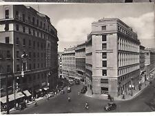 CARTOLINA DI ROMA VIA BARBERINI 1952 6-103