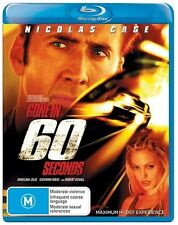 *New & Sealed*  Gone In 60 Seconds (Blu-ray Movie 2007) Nicolas Cage, Reg. B AUS