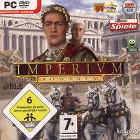 DVD-ROM + IMPERIUM ROMANUM + Aufbau von Wirtschaft & Handel + Strategie + Vista