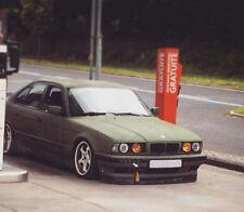 BMW E34 WIDE IS V8 front bumper spoiler chin lip addon valance trim splitter M5