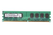 2GB PC2-6400 DDR2-800MHz PC2-6400U 240PIN Desktop RAM DIMM Unbuffered 2 G Memory