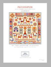 INCA SAMPLER CROSS STITCH KIT by RIVERDRIFT HOUSE
