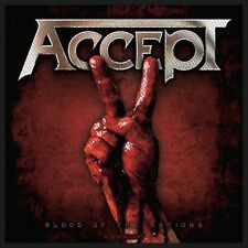 Accept  Aufnäher -Blood Of The Nations(SP2509)Accept Patch -Gewebt & Lizenziert