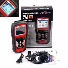KW830 LCD Scanner Diagnostic Live Data Code Reader Car Fault Tool OBD2 EOBD Can