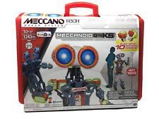 Meccano Meccanoid Tech G15KS Robotics 1243 Piece Kit with Carry Case