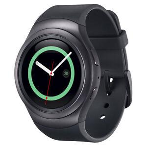 Genuine Samsung Gear S2 Sport SM-R720 Heart Rate Fitness Smart Watch Dark Grey
