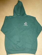 THE RIFLES Hooded Sweatshirt High Quality Garment Printed & Embroidery SIZE LGE