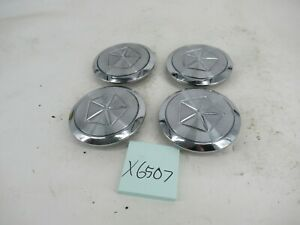 Center Caps Hubcaps Chrysler New Yorker Lebaron Dynasty 255214 Wheel OEM Set
