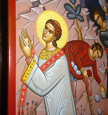 St.STEFAN Martyrium Stephan Ikone Icon icone икона Steve Stefano Esteban Stjepan