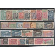 CAMEROON CAMEROUN 1925-27 SOGGETTI VARI   27 VAL  SERIE MISTA  MF18767