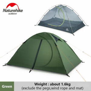 Outdoor 2 Person 4 Season Camping Hiking Waterproof Ultralight Backpacking Tent