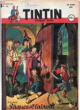 Journal TINTIN n° 126 du 22 mars 1951. Bel état