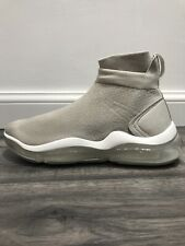Zara Sock Style Sneakers Trainers With Air Cushion & Chunky Sole In Beige Size42