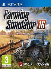 FARMING SIMULATOR 16 JEU PSVITA NEUF