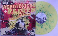 Agrotoxico / Flicts - Split LP YELLOW SPLATTER VINYL Ratos De Porao Brazil Punk