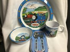 Thomas & Friends Dinner Ware Service, Plate, Cup, Bowl and Fork & Spoon