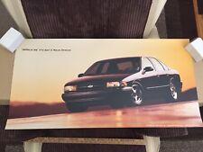 1994 1995 1996 Impala SS Showroom Poster