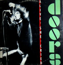 "THE DOORS  LP JIM MORRISON 12"" ALIVE SHE CRIED  ITALY WEA ELEKTRA 96 0269"