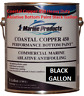 Coastal Copper 450 Multi-Season Ablative Antifouling Bottom Paint Black Gallon