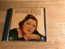 MILDRED BAILEY THE ROCKIN' CHAIR LADY (1931-1950) MUSIC CD