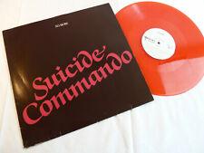 NO MORE - SUICIDE COMMANDO - RED VINYL - KULT-MAXI!!