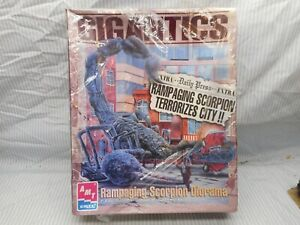 Ramping Scorpion Diorama model by AMT Ertle never opened!