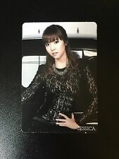 Official Girls' Generation MR.TAXI/ Run Devil Run Jessica Korean Press Photocard