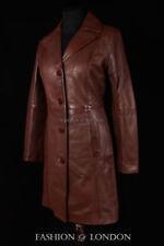 Abrigos y chaquetas de mujer de color principal marrón de piel