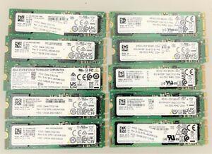 LOT OF 10 Samsung PM881 128GB SATA M.2 2280 Solid State Drives SSD L51707-001