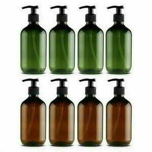 1 2 4Pcs 500ml Soap Dispenser Bottle Pump Plastic Liquid Bathroom Shampoo Empty1