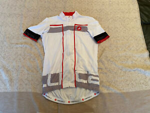 CASTELLI Cycling Jersey BRAND NEW ORIGINAL SHORT SLEEVES SIZE L Unisex
