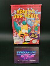Nintendo-NES-CIB-Boxed - PAL B-Simpsons Krusty's Fun House-RARE - #287