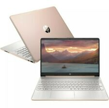 HP 15.6 HD AMD Quad Core Ryzen 5 3.7GHz 256GB SSD 8GB RAM Webcam Win10 Gold