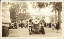 Car Crowd & Street Parade? Danvers MA Written on Back Photograph NON-POSTCARD