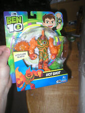 BEN 10 HOT SHOT ACTION FIGURE, NEVER OPENED, FROM PLAYMATES TOYS