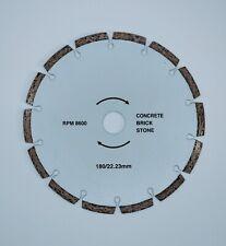 Walker segmentados Diamante Utility 180mm (8600rpm) 22.23mm