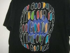 1996 GOO GOO DOLLS ROCK BAND XLG BLACK T-SHIRT TShirt Pre-Owned Vintage Tour XL