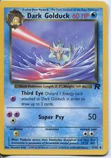 Pokemon Team Rocket Uncommon Card #37/82 Dark Golduck