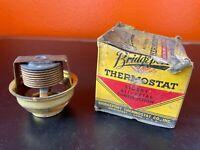 Vintage Thermostat NOS Bridgeport #16 Standard car truck ford Pontiac Dodge etc