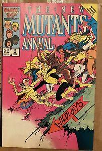 New Mutants Annual #2 **1ST APPEARANCE of PSYLOCKE**X-MEN VF+ Marvel Comic Book
