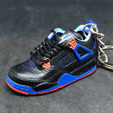 super popular e80e8 02ad5 AIR JORDAN IV 4 RETRO CAVS NEW YORK KNICKS 3D SNEAKERS SHOES KEYCHAIN  FIGURE 1