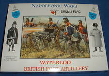 A CALL TO ARMS #22 NAPOLEONIC BRITISH FOOT ARTILLERY CREW (NO CANNONS). 1/32