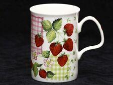 ROY KIRKHAM STRAWBERRY GARDEN Fine Bone China LANCASTER Mug #1b