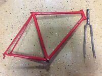 Benotto Cromor Rennrad Rahmen Stahl  RH 54 Vintage Fixie Kult Singlespeed
