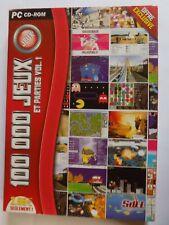 Jeu PC 100 000 Jeux et parties vol.1 Arcade Aventure Simulation
