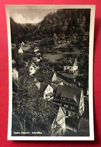 Foto AK Sächsische Schweiz SCHMILKA 1959 Ortsansicht ( 90163