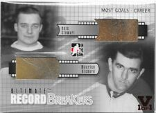 ITG Ultimate Memorabilia 6 Record Breakers Glove Skate Richard Stewart 1/1 Vault