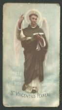 Holy card antique de San Vicente Ferrer santino image pieuse estampa