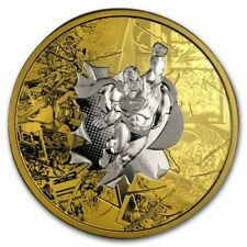 DC Comics - Superman Brave and Bold 3oz silver coin Canada 50 dollars 2017 50$