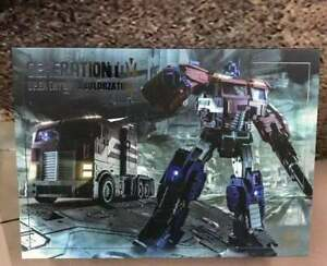 Generation Toy GT-03G IDW Optimus Prime O.P EX Transformers Action Figure Toy